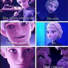 elsa and jack frost fanfiction,hahah