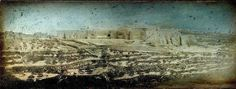 These earliest pictures of Jerusalem were taken in 1844 by French photographer and draughtsman Joseph-Philibert Girault de Prangey – who was active in the Middle East. Old Pictures, Old Photos, Vintage Photos, First Photograph Ever Taken, Denmark History, New Jerusalem, History Of Photography, Early Christian, French Photographers