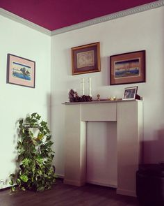 Chimenea hecha a mano ideal para decorar rincones, #falsachimenea #chimeneascaseras #decoracion