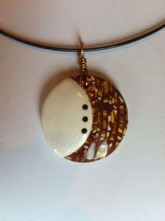 Stroppel cane pendant with mini swarovski cristals Polymer Clay Creations, Jewerly, Swarovski, Objects, Pendant Necklace, Mini, Jewlery, Schmuck, Jewelry