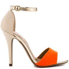 b04ba09d4de1 Lucky Charm heels Orange Multi brand heels Chinese Laundry