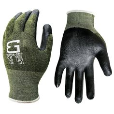 Better Grip BGS-GNBB Bamboo Gardening Work Gloves (1 Pair)