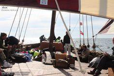 """Åsa kopi av Osebergbergskipet - """"Aasa"""" Oseberg ship replica - Vikingskip og norske trebåter - Viking ships and Norse wooden boats"""