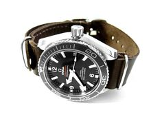 omega seamaster planet ocean chronograph nato strap - Google Search