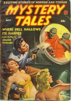 Mystery Tales V3#5 May 1940