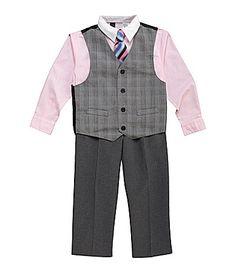 Class Club 2T7 4Piece Vest Set #Dillards