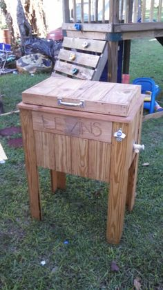 Wood cooler