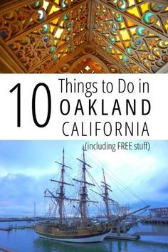 Best Things to do in Oakland California including budget friendly FREE activities, fun for solo travelers or family travel with kids Oakland California, California Coast, California Travel, Ireland Vacation, Ireland Travel, Cork Ireland, Galway Ireland, Solo Travel, Travel Usa