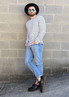 bangarangblog: shop this look: Hat: http://rstyle.me/ku7rv9yce Sunnies: http://rstyle.me/n/ku7vz9yce Tee: http://rstyle.me/n/ku7mh9yce Jeans: http://rstyle.me/n/ku7hv9yce Shoes: http://rstyle.me.n/ku7jr9yce
