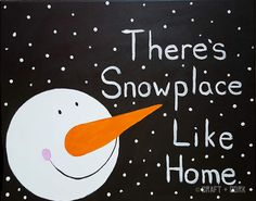 Craft + Cork Paintings - Snowplace Like Home