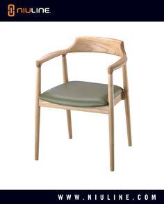 STILO - Wood Chair, Natural Finish
