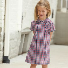 dresses - Charlotte Dress This is perfect for back to school and early fall in Providence Plaid!