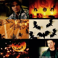 Supernatural Aestheric - Decorating the bunker for Halloween