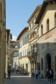 Città di Castello: Corso Cavour Umbria Italy