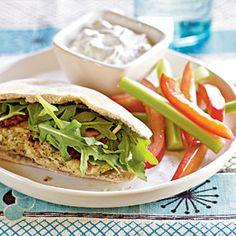 Mediterranean Turkey Burgers | MyRecipes.com