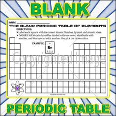 Worksheet periodic table worksheet 3 periodic table worksheets a blank periodic table with labeling and coloring directions this can serve as a practice urtaz Choice Image
