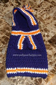 Instant Download Crochet Pattern Sports Team by poshpoochdesigns.  Pretty sure this could be made for a kitty mom.....