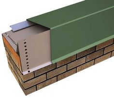 Anchor Tite Extended Canted Fascia Galvanized Waterdam