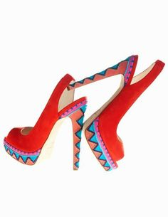 94.99$  Buy now - http://ali1kx.worldwells.pw/go.php?t=32364797508 - Colorful Women Shoes Sandals For Party Evening Back Strap Open Toe Cheap Modest Plus Size High Thin Heels  Elegant New Arrive