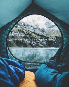 Adventure time. Camping is all about waking up to views like this.
