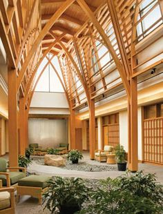 Duke Integrative Medicine, Durham, North Carolina. All medical facilities should be like this.