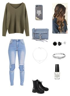 """""""Fire"""" by my-volleyball-world ❤ liked on Polyvore featuring Rebecca Minkoff, Kate Spade and OPI"""