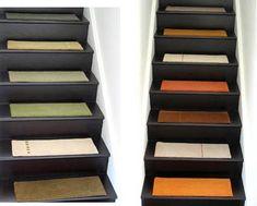 Buttermilk U0026 Cranberry Rectangle Braided Stair Tread Rug | Stair Tread Rugs,  Stair Treads And Products