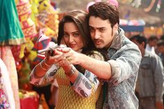 Once Upon a Time in Mumbai Dobara Wallpapers. Sonakshi Sinha & Imran Khan HD stills from the movie