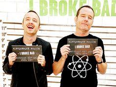 Aaron and Bryan #breakingbad