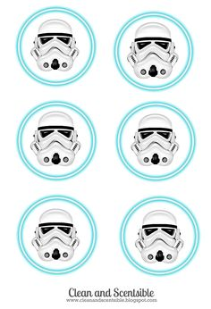 storm trooper water labels