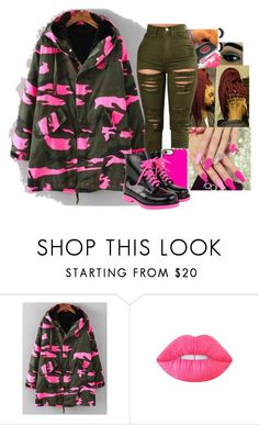 """Untitled #841"" by jadab521 ❤ liked on Polyvore featuring Lime Crime"