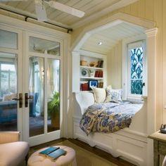 Bedroom windows! Read, read, read...nap.