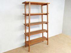 Masaya & Co Apanas Etagere Bookcase Wood Bookshelves, Cube Bookcase, Etagere Bookcase, Open Bookcase, Wooden Shelves, Hardwood Furniture, Sustainable Furniture, Bookshelf Styling, Mid-century Modern