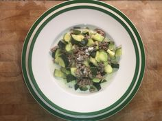 Zucchini with Minced Meat & Feta Feta, Zucchini, Dinners, Vegetables, Cooking, Recipes, Dinner Parties, Kitchen, Food Dinners