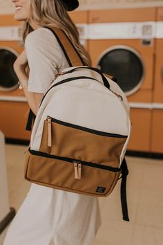 13b9f6b0c4c1 Backpack Diaper Bag outfit ideas. Cute and simple backpacks for women. Full  size backpacks