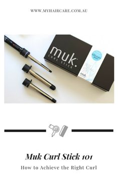 Styling 101: Guide to Using MUK Curl Stick