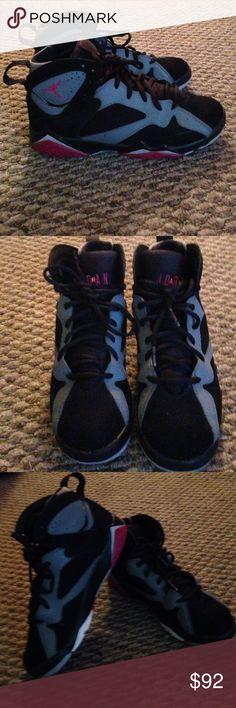 Brand new retro Jordan 7's Like new retro Jordan 7's 9.5/10 size 6.5 men's and 8.5 women still available Jordan Shoes Sneakers