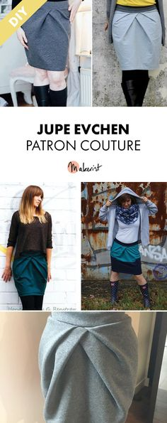 Patron Couture Jupe T32 - T54