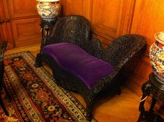Now... That's a piece of furniture I would like to own! Peles castle royal furniture made of teac wood manually sculpted! Royal Furniture, Furniture Making, Peles Castle, Romania, Sculpting, Fantasy, Wood, Home Decor, Sculpture