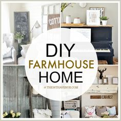 DIY Projects For Farmhouse Decor