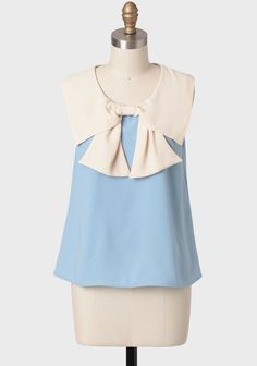 Tabitha Colorblocked Bow Blouse at #Ruche @Ruche