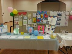 Mt. Zion Baptist Church open house. Another view of the table.