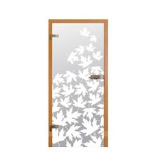 Drzwi szklane JA-GLASS Liście klonu