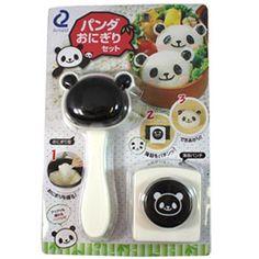 PANDA-Shaped Kawaii Onigiri Maker