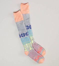 $12.95 AEO Fair Isle Boot Sock