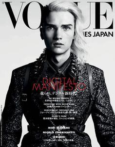 Vogue HommesJapan - Hedi Slimane by Nicola Formichetti