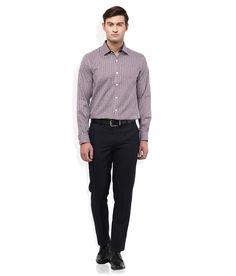 Wills Lifestyle Multi Slim Fit Shirt