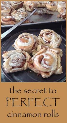 The secret to perfect cinnamon rolls, dough and filling recipe. I use the cinnamon/brown sugar filling-yummy Brunch Recipes, Breakfast Recipes, Dessert Recipes, Delicious Desserts, Yummy Food, What's For Breakfast, Filling Recipe, Butter Recipe, Strudel