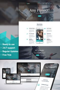 Moto CMS 3 Template , Software Company