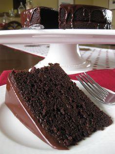 Chocolate Stout Cake  ___________________________  Baker Girl